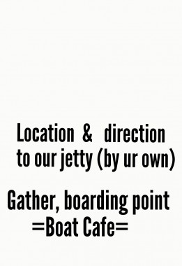 Guilde location direction (smw) jetty gather boarding point