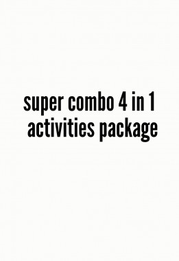 Super combo 4 in 1 activities